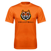 Performance Orange Tee-Volleyball