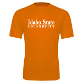 Performance Orange Tee-University Mark