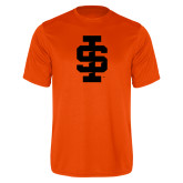 Performance Orange Tee-Interlocking IS