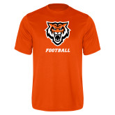 Performance Orange Tee-Football