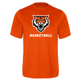 Performance Orange Tee-Basketball