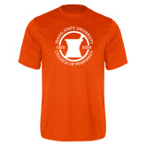Performance Orange Tee-Pharmacy Seal