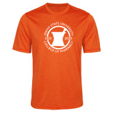 Performance Orange Heather Contender Tee-Pharmacy Seal