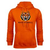 Orange Fleece Hood-Basketball