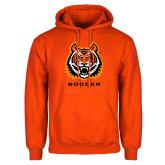 Orange Fleece Hoodie-Sport 5