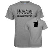 Grey T Shirt-Idaho State University College Pharmacy