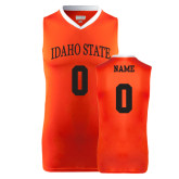 Replica Orange Adult Basketball Jersey-Personalized