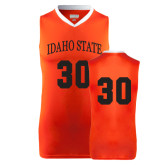Replica Orange Adult Basketball Jersey-#30