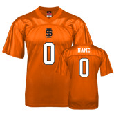 Replica Orange Adult Football Jersey-Personalized