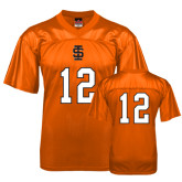 Replica Orange Adult Football Jersey-#12