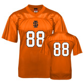 Replica Orange Adult Football Jersey-#88