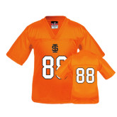 Youth Replica Orange Football Jersey-#88