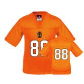 Youth Replica Orange Football Jersey-#88