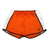 Ladies Orange/White Team Short-Bengal Head