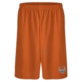 Performance Classic Orange 9 Inch Short-Primary Athletics Mark