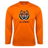 Performance Orange Longsleeve Shirt-Alumni