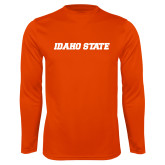 Performance Orange Longsleeve Shirt-Idaho State
