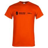 Orange T Shirt-College of Pharmacy Flat