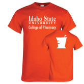 Orange T Shirt-Idaho State University College Pharmacy