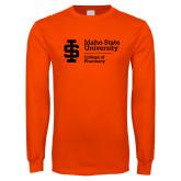 Orange Long Sleeve T Shirt-College of Pharmacy