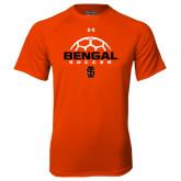 Under Armour Orange Tech Tee-Soccer Ball Design