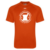 Under Armour Orange Tech Tee-Pharmacy Seal