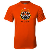 Under Armour Orange Tech Tee-Alumni