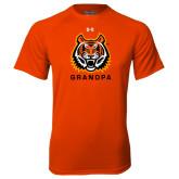 Under Armour Orange Tech Tee-Grandpa