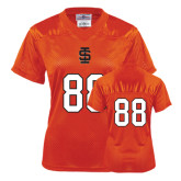 Ladies Orange Replica Football Jersey-#88