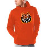 Under Armour Orange Armour Fleece Hoodie-Bengal Head