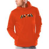 Under Armour Orange Armour Fleece Hoodie-Bengal Eyes