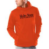 Under Armour Orange Armour Fleece Hoodie-University Mark