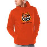 Under Armour Orange Armour Fleece Hoodie-Football