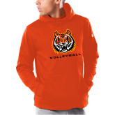Under Armour Orange Armour Fleece Hoodie-Sport 3