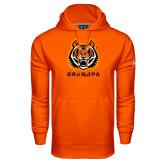 Under Armour Orange Performance Sweats Team Hood-Grandpa