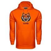 Under Armour Orange Performance Sweats Team Hood-Dad