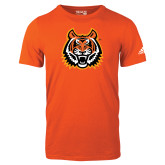 Adidas Orange Logo T Shirt-Bengal Head