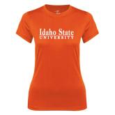 Ladies Syntrel Performance Orange Tee-University Mark