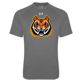 Under Armour Carbon Heather Tech Tee-Bengal Head