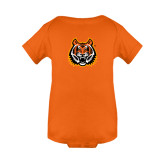 Orange Infant Onesie-Bengal Head