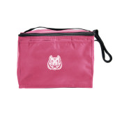 Six Pack Pink Cooler-Bengal Head
