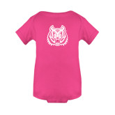 Fuchsia Infant Onesie-Bengal Head