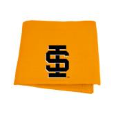 Orange Sweatshirt Blanket-Interlocking IS