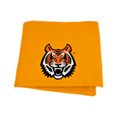 Orange Sweatshirt Blanket-Bengal Head