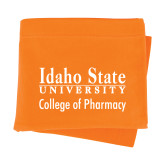 Orange Sweatshirt Blanket-Idaho State University College Pharmacy