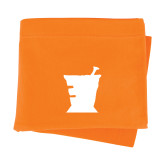 Orange Sweatshirt Blanket-Idaho State University Mortar