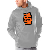 Under Armour Grey Armour Fleece Hoodie-Interlocking IS - Two Color