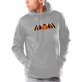 Under Armour Grey Armour Fleece Hoodie-Bengal Eyes