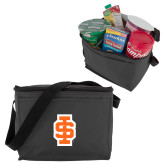 Six Pack Grey Cooler-Interlocking IS - 2 Color