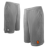 Russell Performance Grey 10 Inch Short w/Pockets-Interlocking IS - Two Color